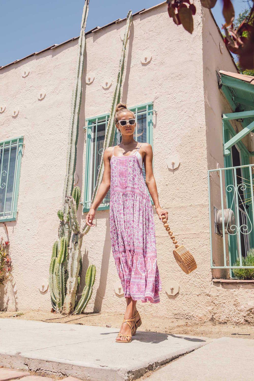 Bared_Footwear_Womens_Loon_Tan_Studded_Sandals_LA_Summer_Floral_Print