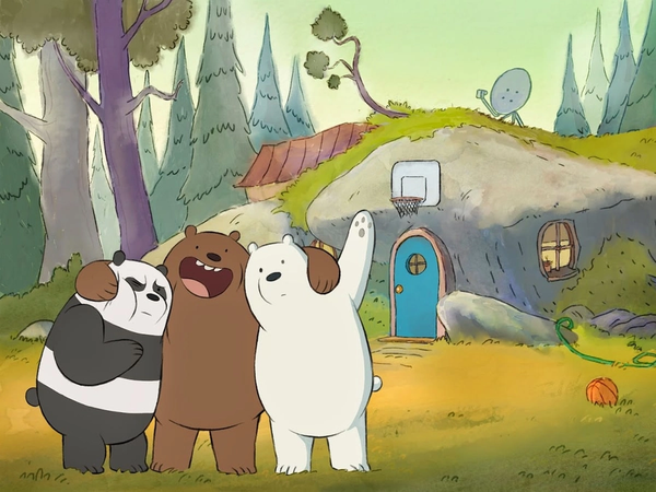 Ursos sem Curso (We Bare Bears, Cartoon Network, 2014)