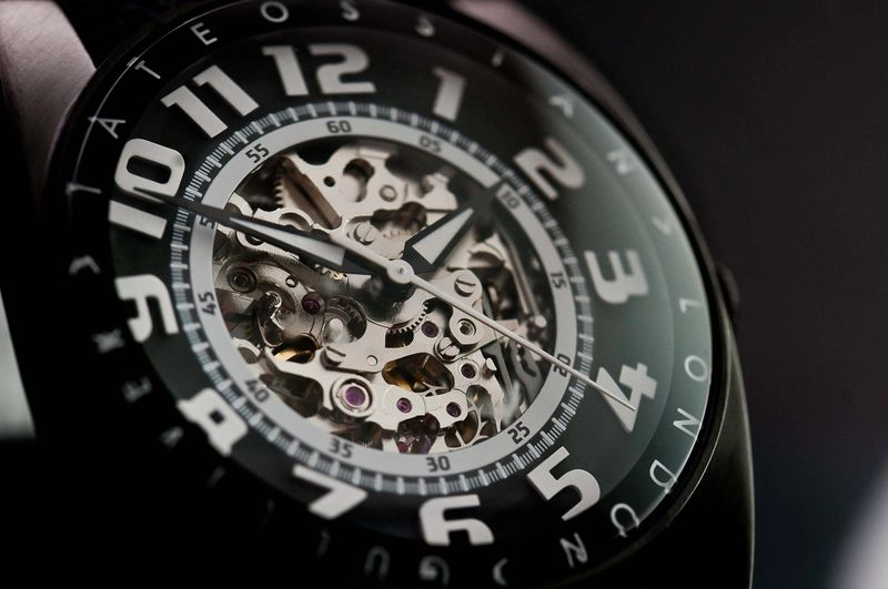 Tateossian - Skeleton Watch