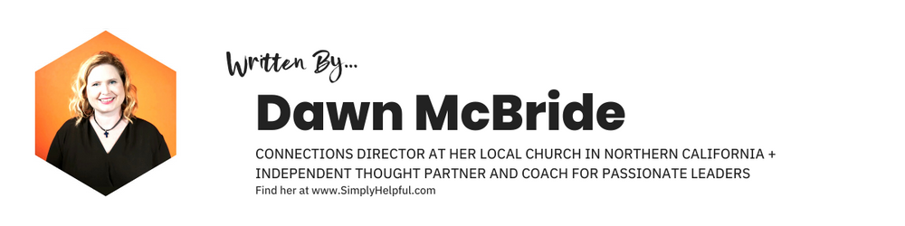 Written by Dawn McBride