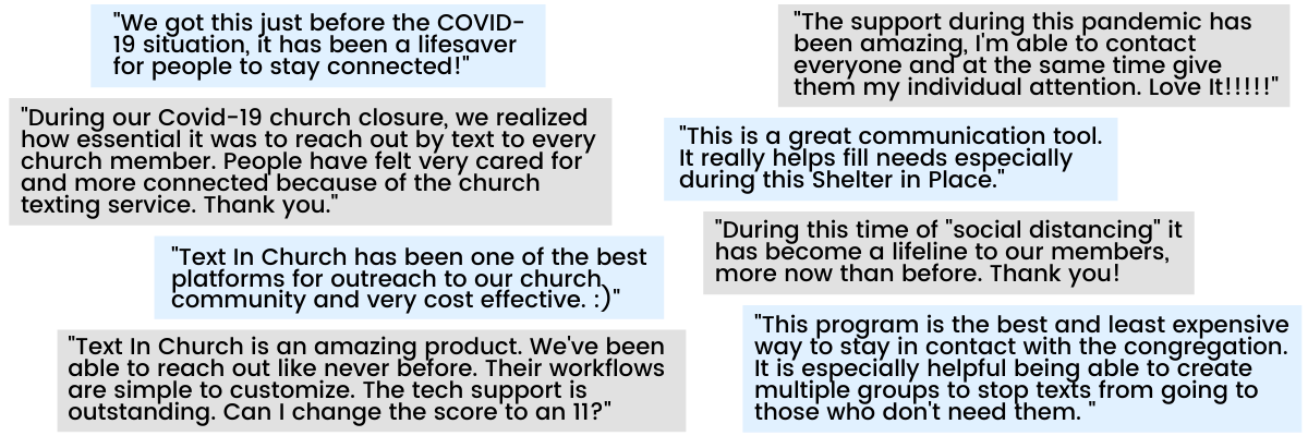churches are using texting in new and impactful ways