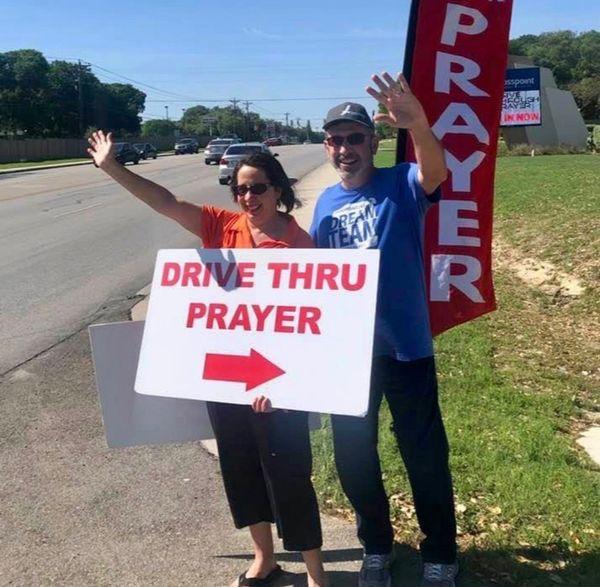 Drive Through Prayer