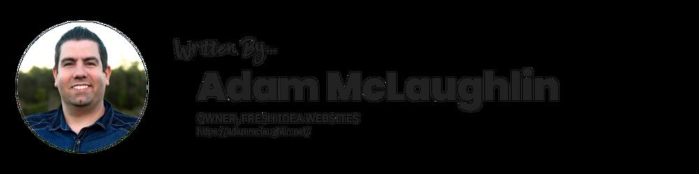 AdamMcLaughlin.net