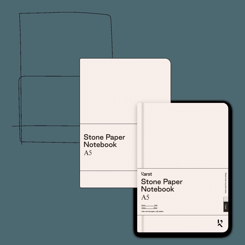 Notebook Process Illustration