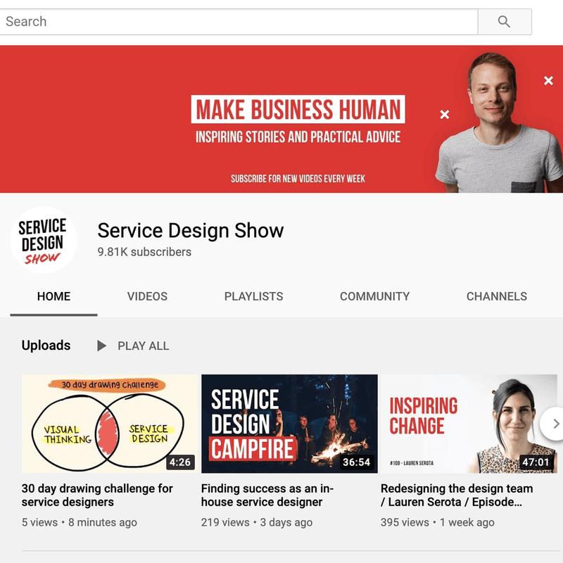 The Service Design Show Podcast