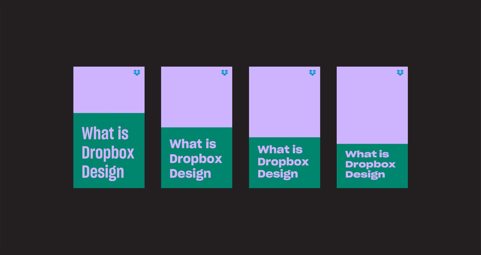 Dropbox Responsive Type