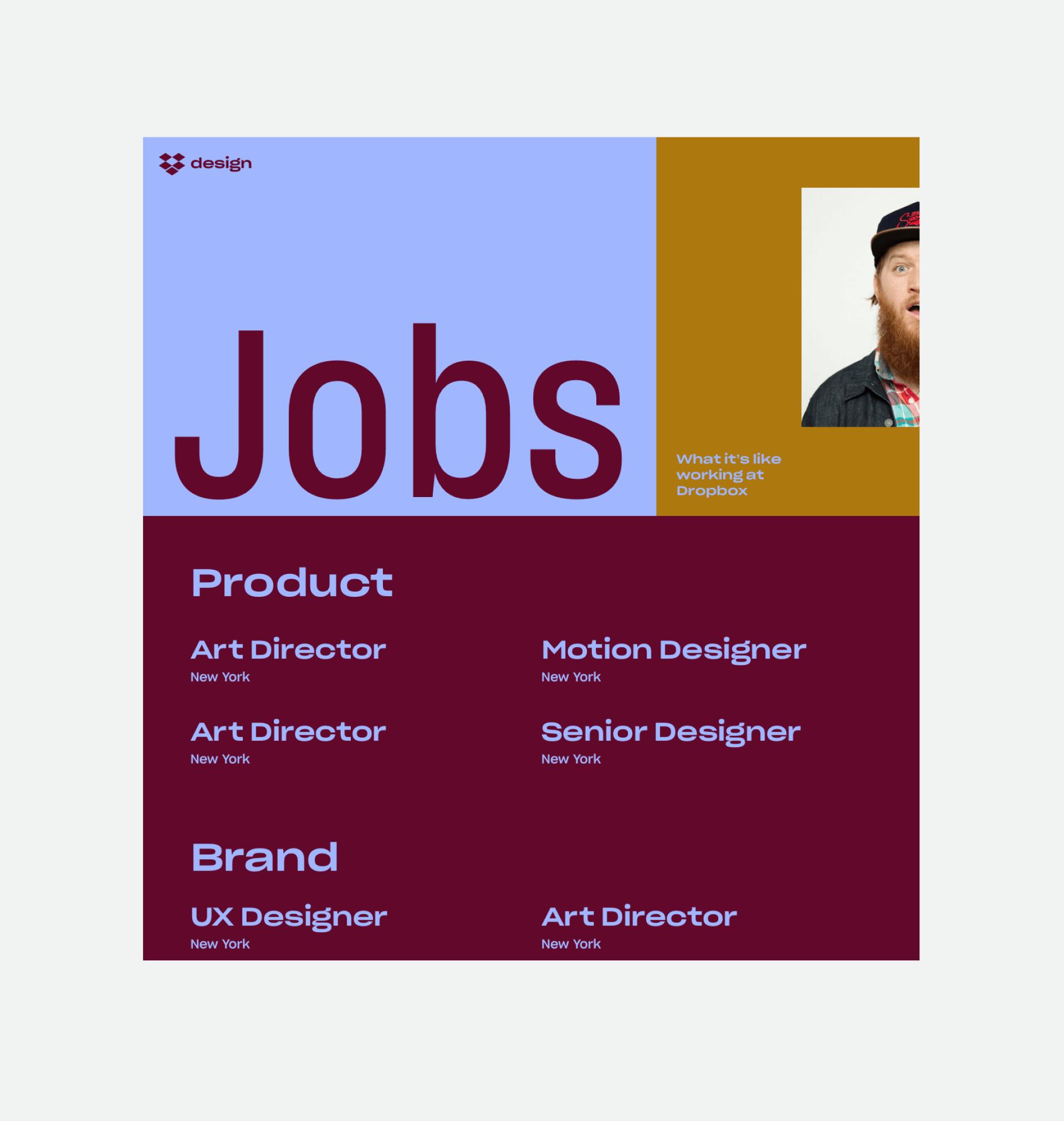 Dropbox Jobs Page