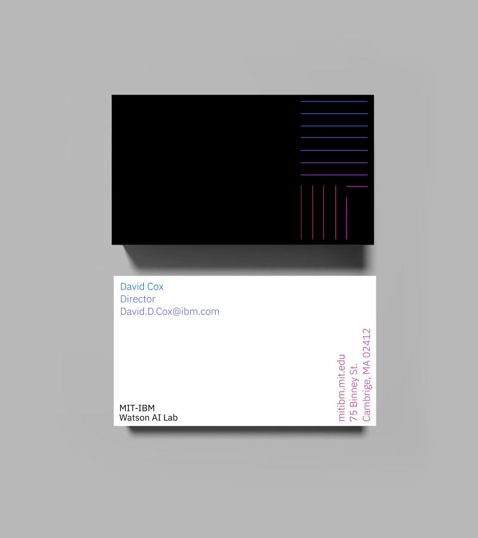 MIT-IBM Business Cards