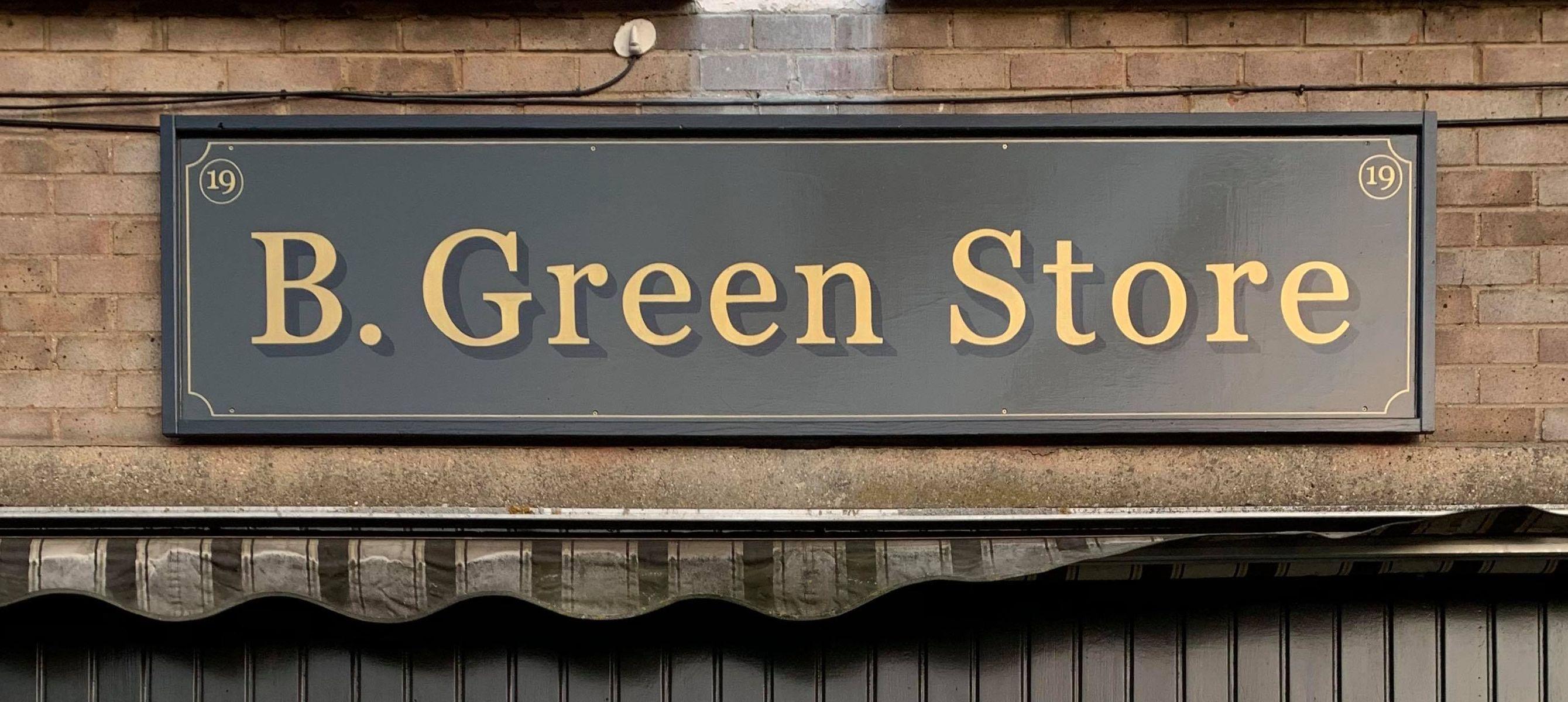 B Green Store