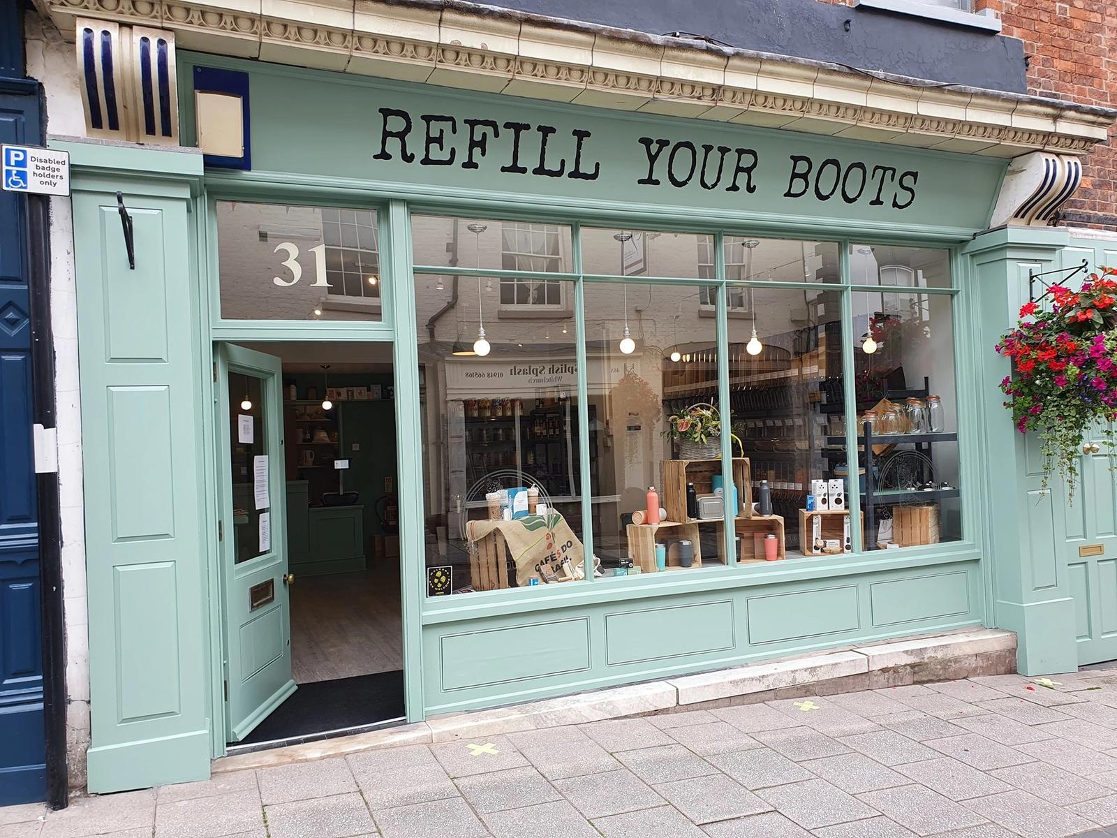 Refill Your Boots