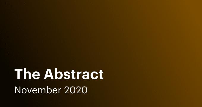 Nov 2020 Abstract Email Thumbnail