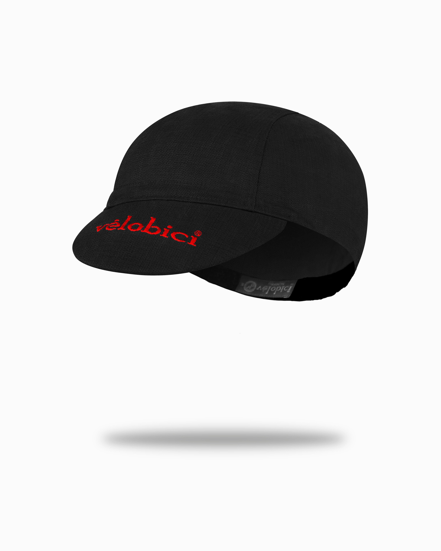Ride Cap (Black/Red)