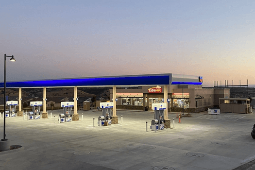 Gas Station Construction
