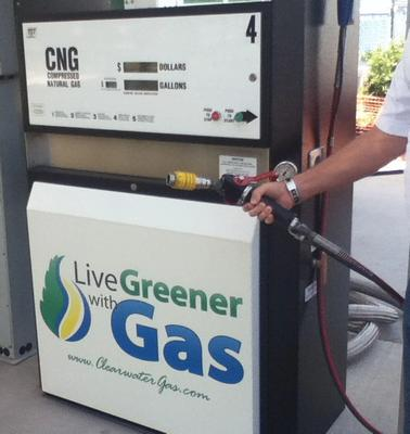 live greener with gas