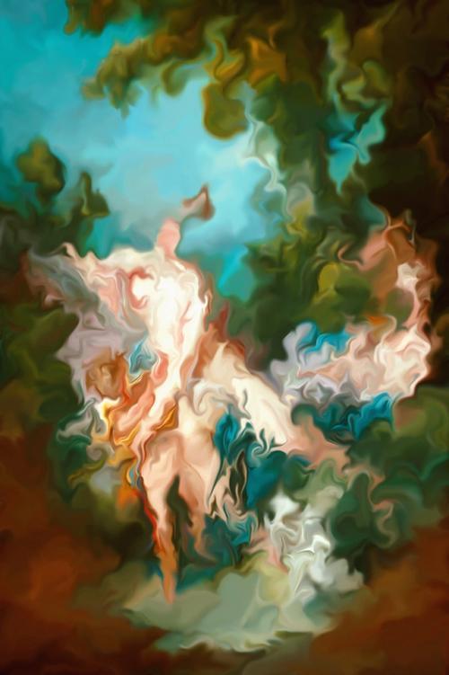 artwork I Will Move Up Higher from Jason Engelbart