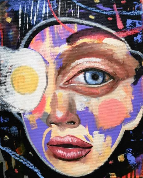 artwork Sunny Side Up from Olga Dedova