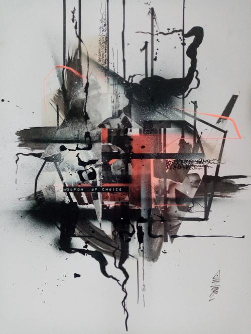 artwork ART 15 MY W34PÖN 0F CH01C3 from Ain