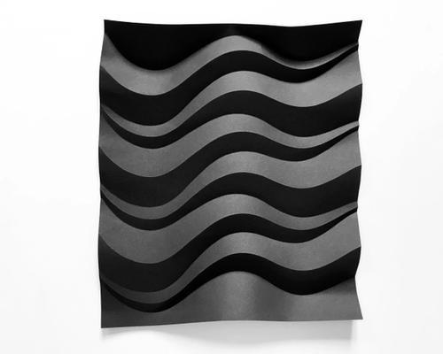 artwork BLACK waves II from KALEIDA creations
