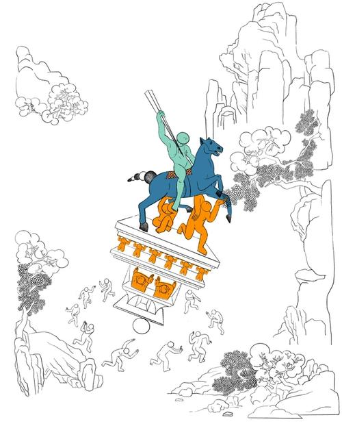 artwork Sehenswürdigkeit 1 from Yanming
