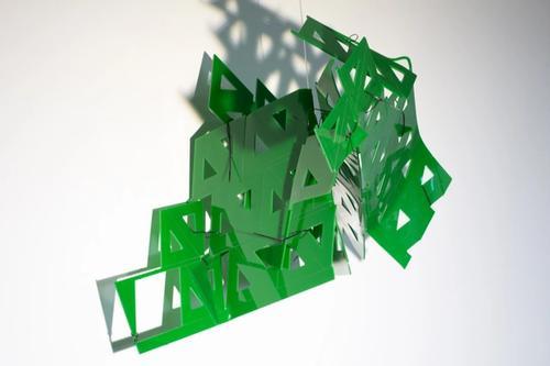 artwork sqaured triangle from Gabriele Walter