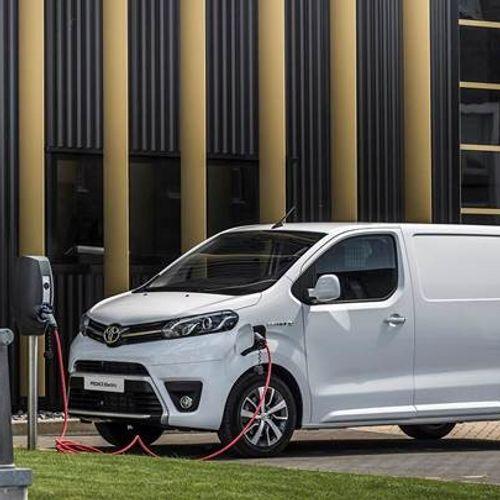 Ny varebil fra Toyota- PROACE Electric