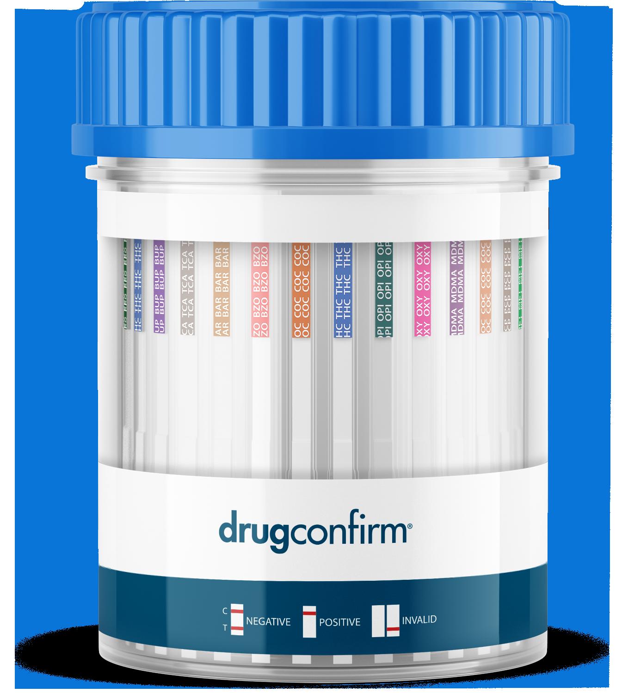 DrugConfirm Test Cups Certification
