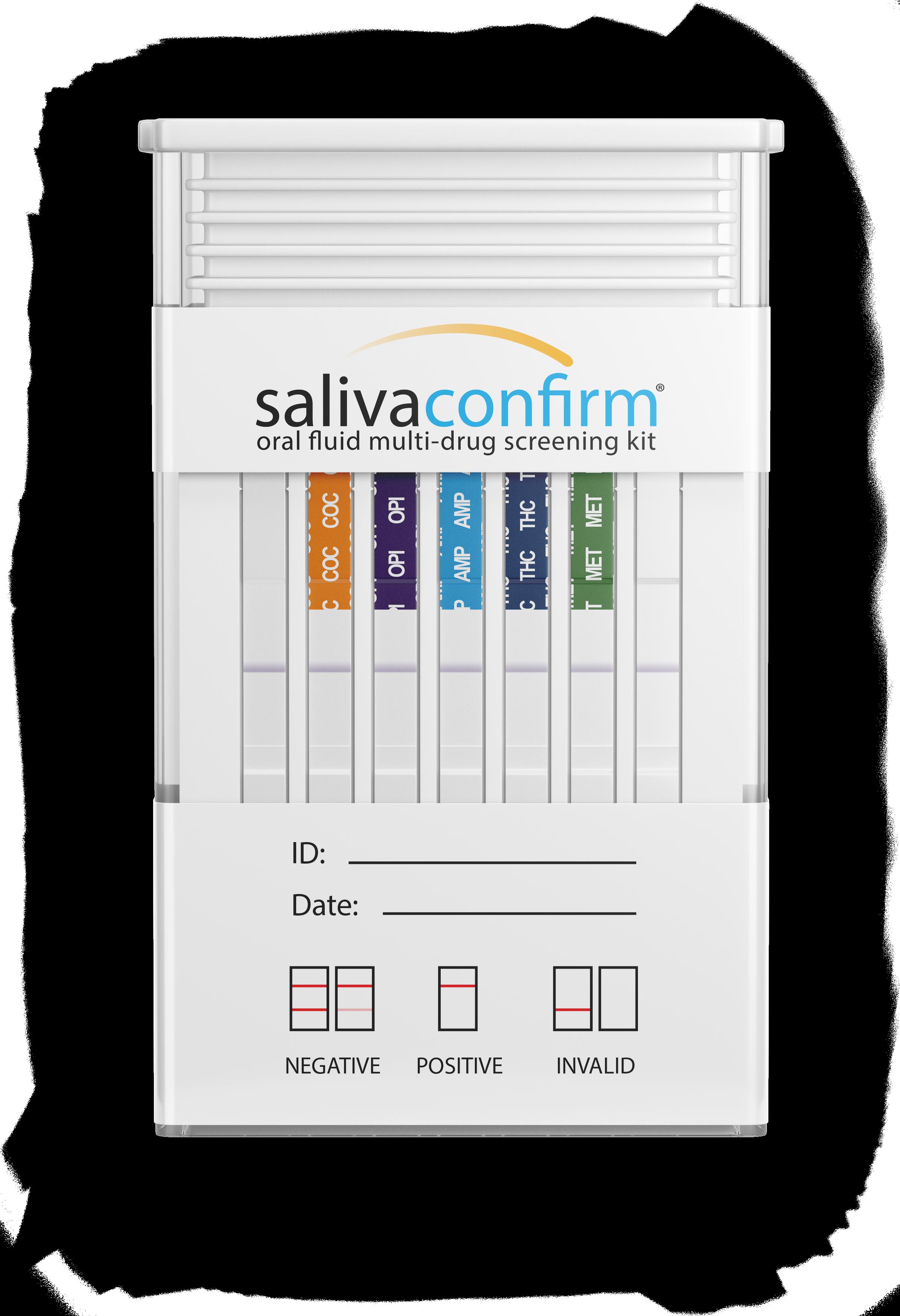 SalivaConfirm Saliva Drug Test Certification