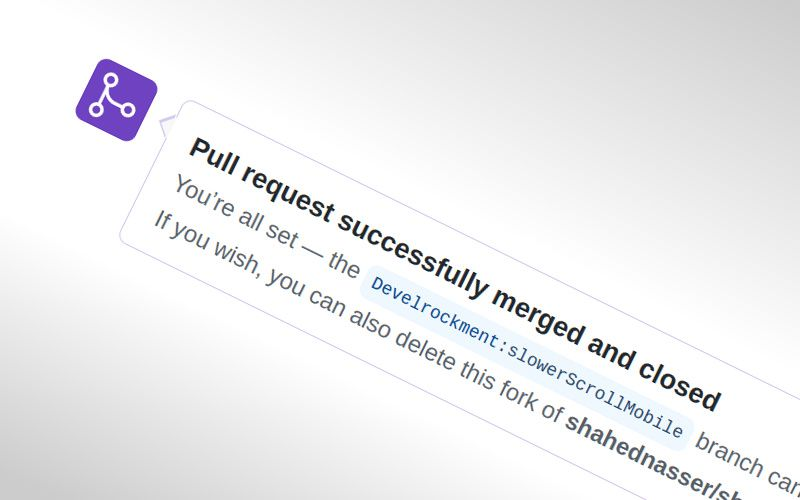 Pull request successfully merged and closed