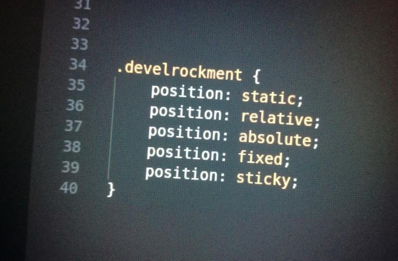 Titelbild CSS Positioning
