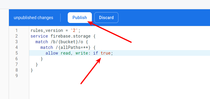 Firebase Storage Security Rules