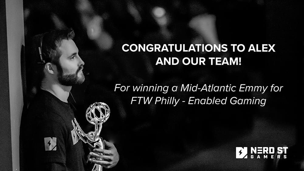 Nerd Street Gamers wins its first Mid-Atlantic Emmy for FTW Philly – Enabled Gaming