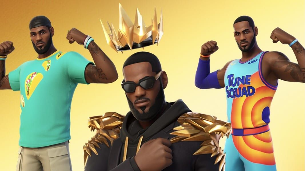 How to get the LeBron James Fortnite skin