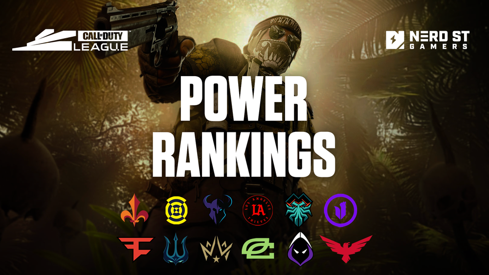 Call of Duty League Power Rankings entering Stage 3