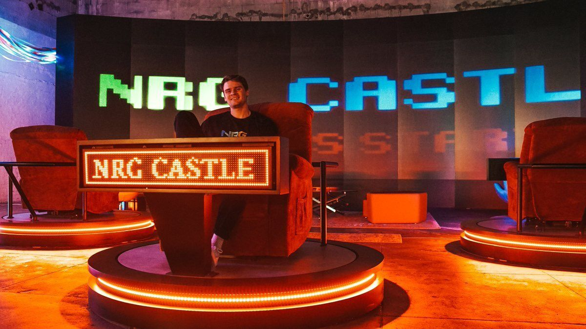 Speedrunning the latest addition to NRG's content creation Castle