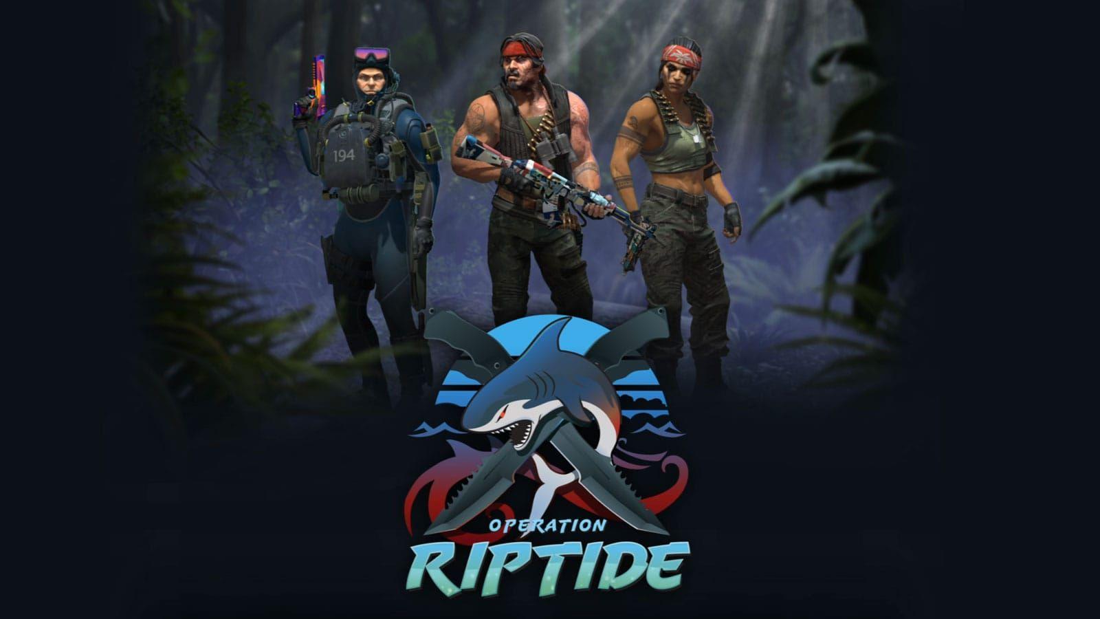 Counter-Strike: Global Offensive operation riptide logo