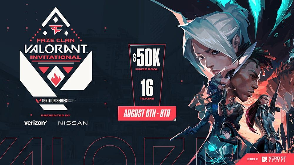 FaZe Clan Announces VALORANT Ignition Series Tournament In Partnership With Riot Games