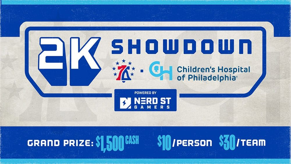76ers GC X CHOP 2K Showdown Powered By Nerd Street Gamers Set For Sept. 13 and 14