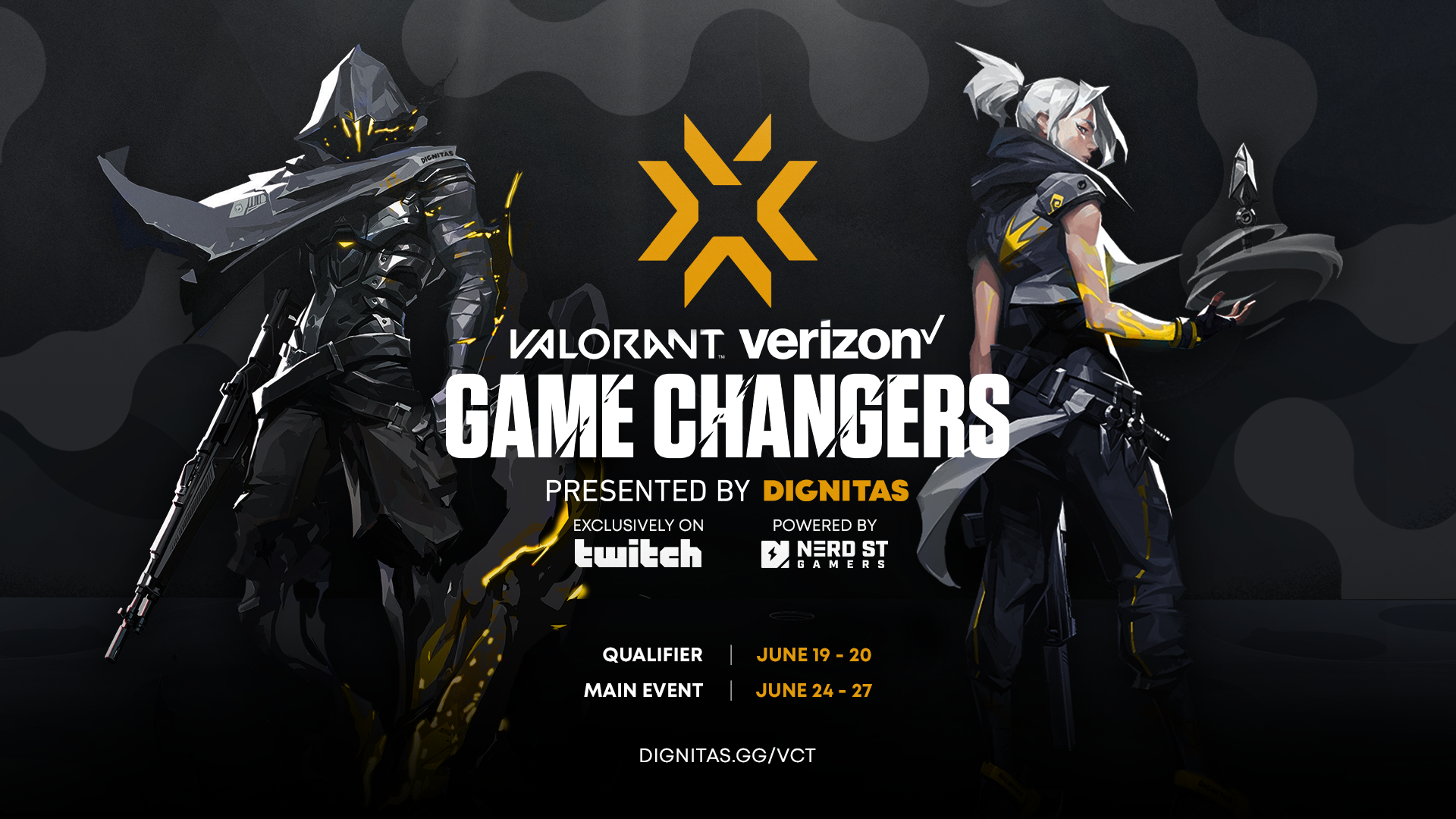 Dignitas, in collaboration with VERIZON, announces $50,000 all-women's VALORANT tournament, as part of VCT Game Changers Program