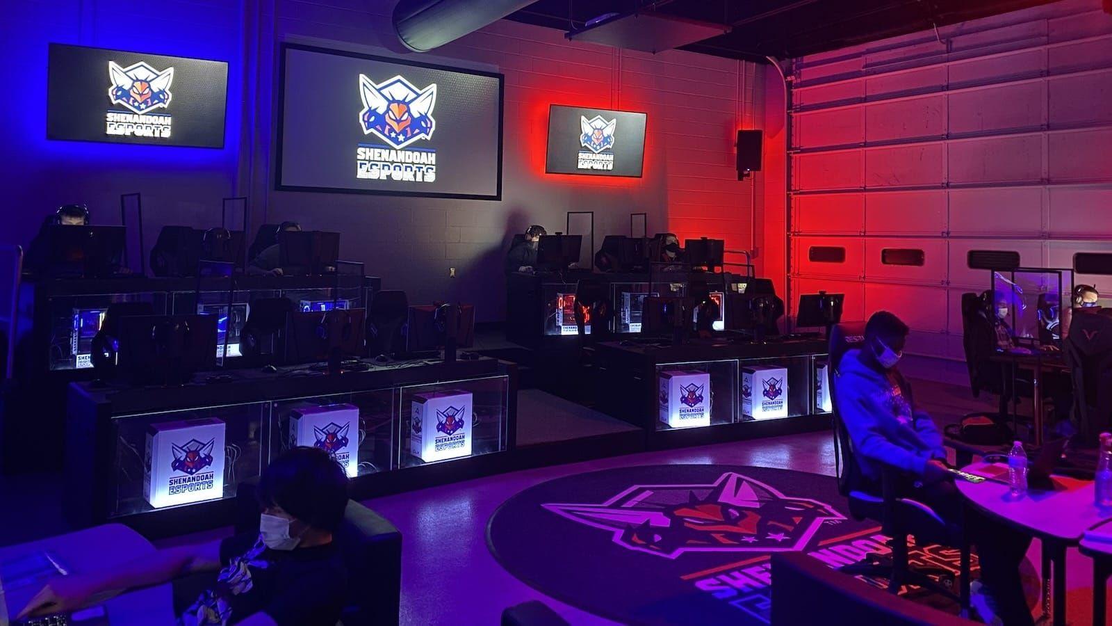 Inside Shenandoah University's esports gaming room