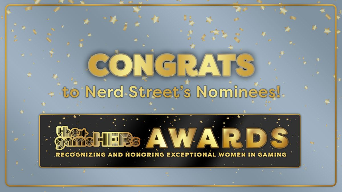 Congrats to our Nerd Street Nominees