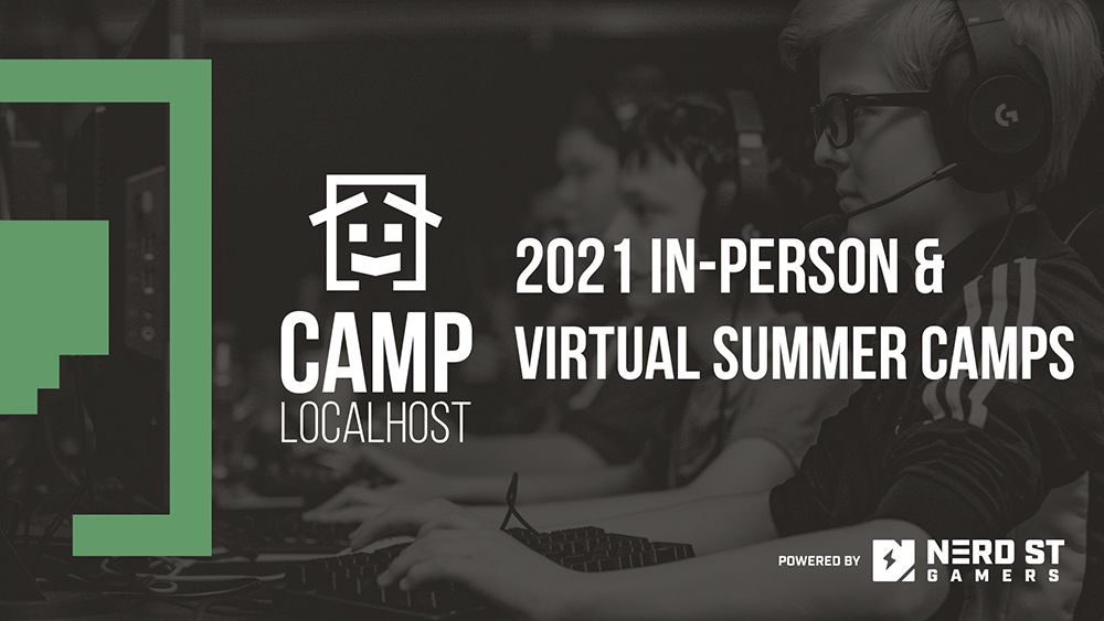 Nerd Street Gamers to Power Summer 2021 with In-Person &  Virtual Esports and Video Game Camps for Kids and Teens
