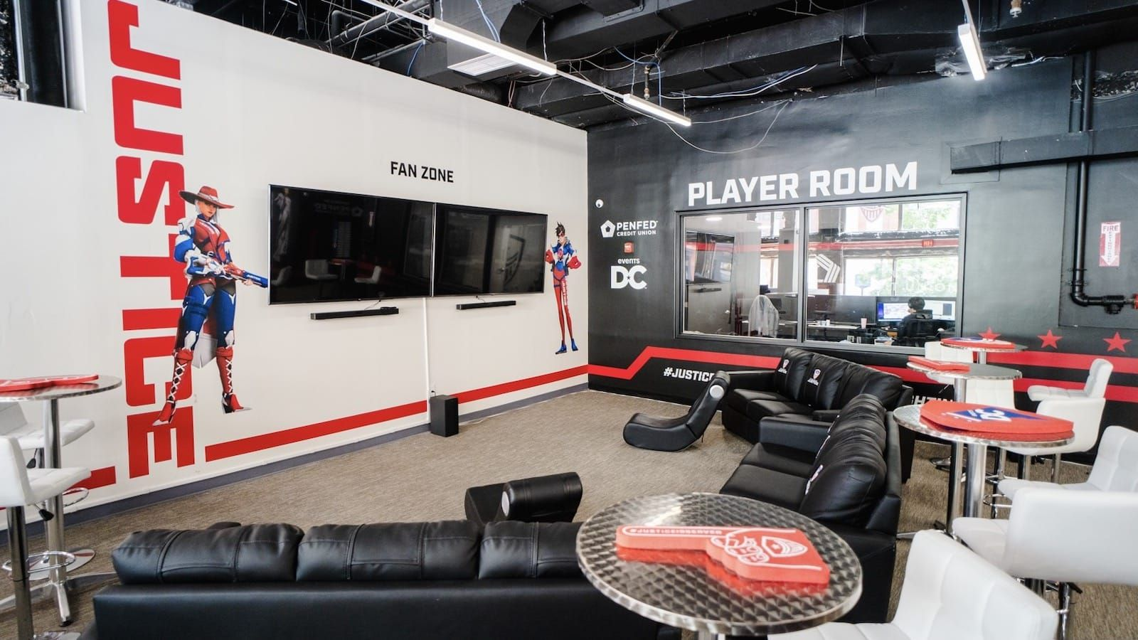 How the Washington Justice's new facility brings fans closer to the team