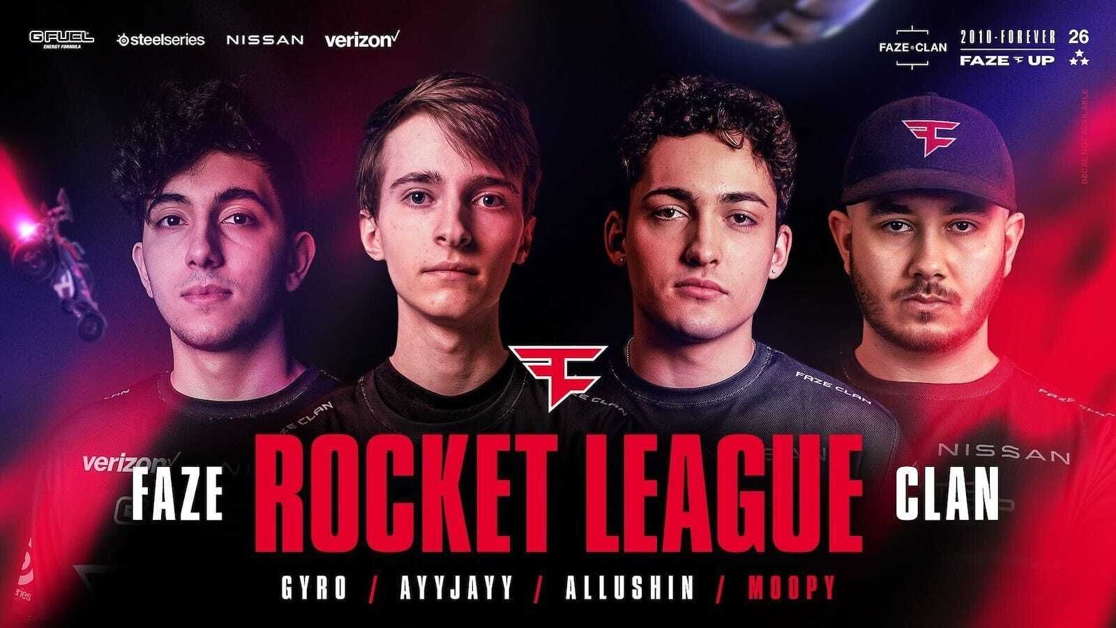 How The Peeps leveled up after signing with FaZe in Rocket League