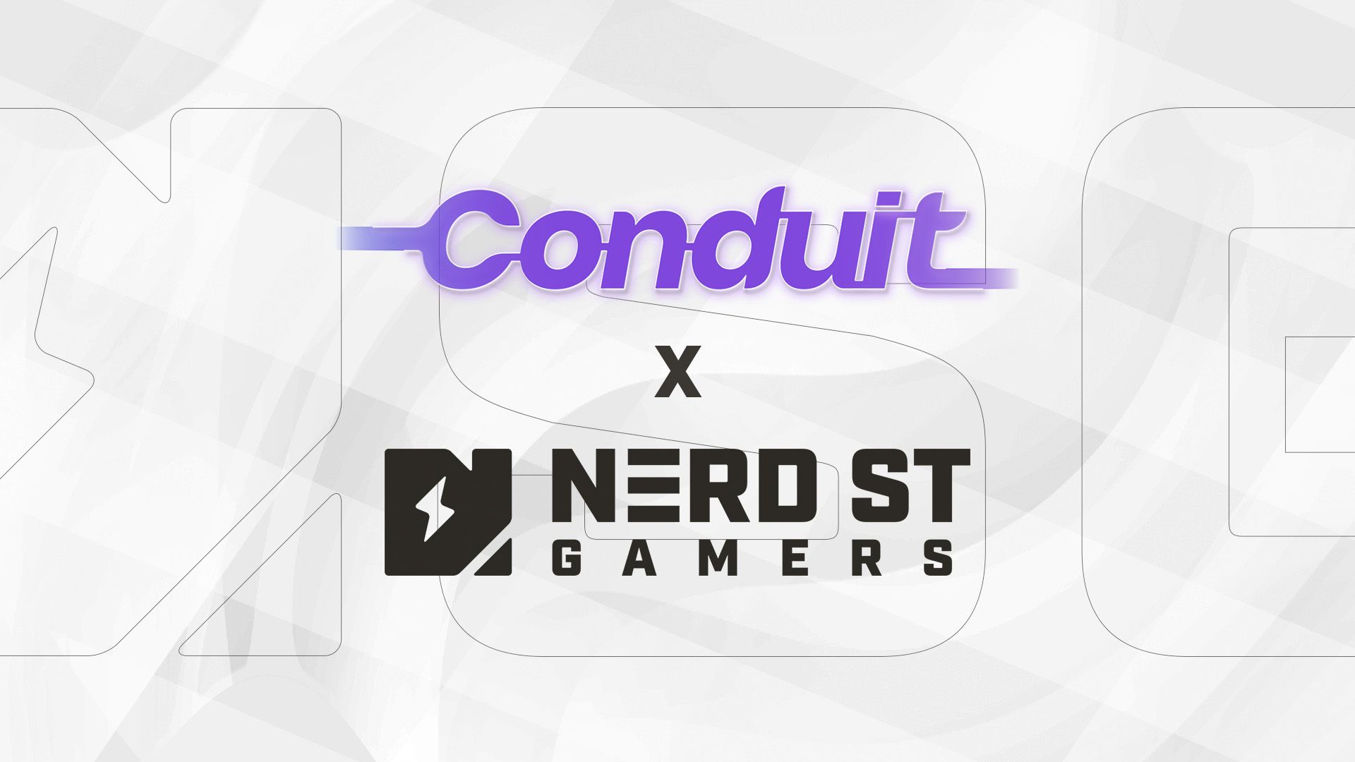 Conduit logo and Nerd Street Gamers logo