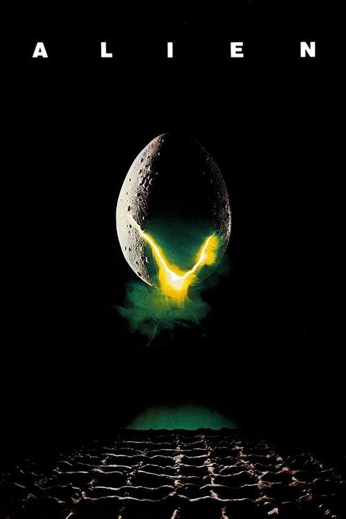 Movie poster for Alien