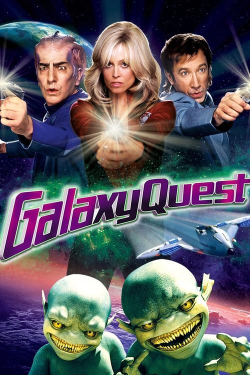 Movie poster for Galaxy Quest