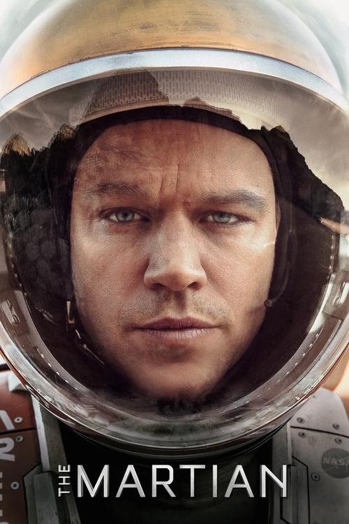 Movie poster for The Martian