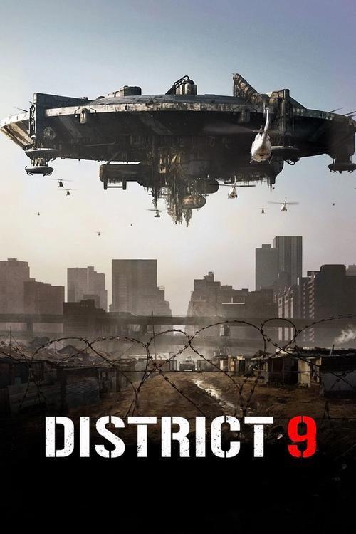 Movie poster for District 9