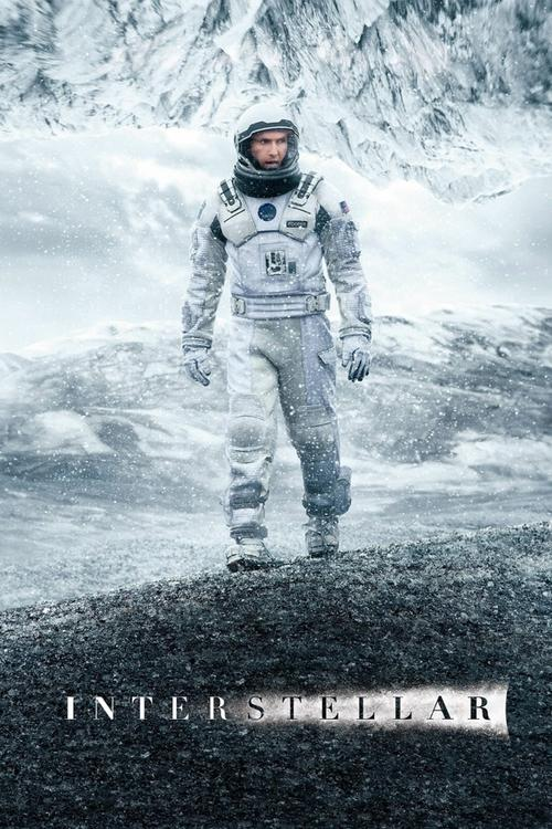 Movie poster for Interstellar