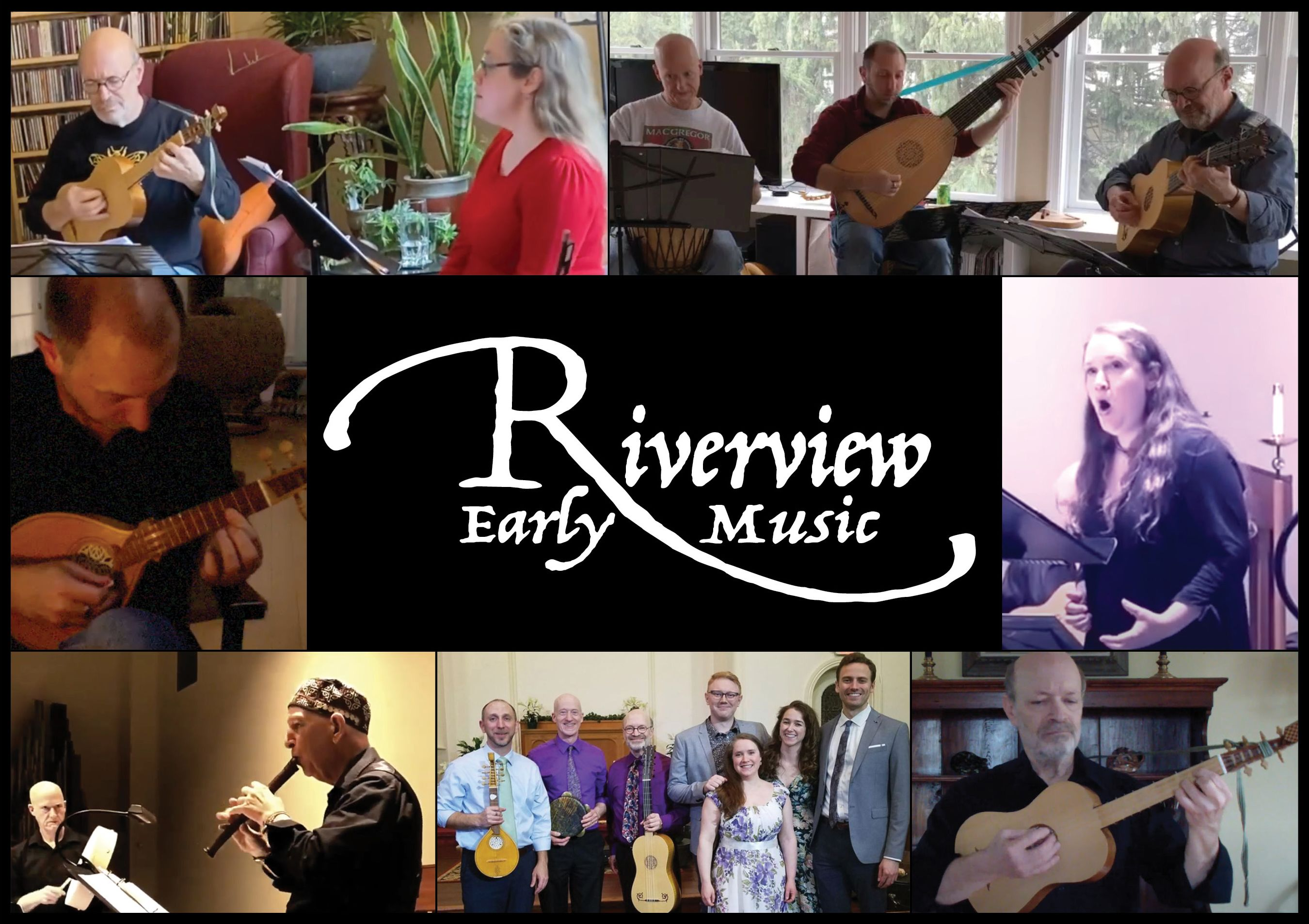 Collage of Riverview Artists